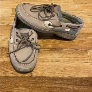 Girls 5.5 women's 7.5 sperry loafers shoes